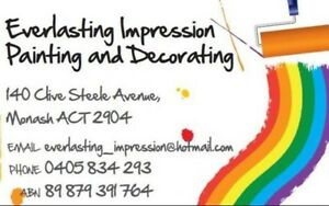 Everlasting Impression Painting and Decorating Monash Tuggeranong Preview