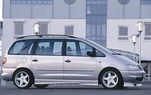 Rieger Seitenschweller für VW Sharan 7M incl. Facelift