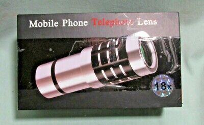 18x Telescope Camera Zoom Optical Cellphone Telephoto Lens For iphone, samsung