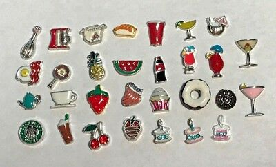 Floating Charms to fit Origami Owl #12 Buy 4 Get 1 Free