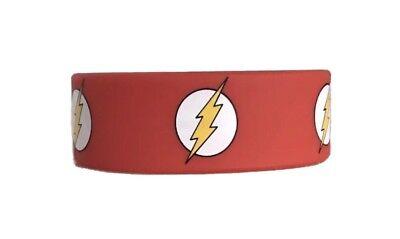 Cheap Silicone Wristbands (DC Comics Justice League The Flash Superhero Silicone Wristband)