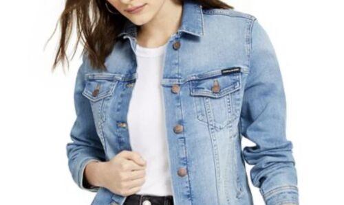 NWT Women's Calvin Klein Jean Jacket Size Medium