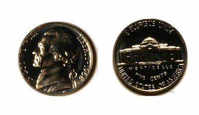 1968 S PROOF JEFFERSON NICKEL    GEM CAMEO PROOF FL990