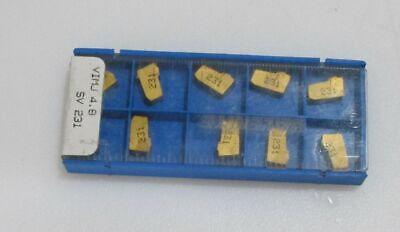 Valenite Vimj 4.8 Sv231 Insert Carbide Lot Of 10