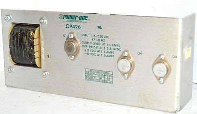 Power One Cp426 Power Supply 5 Vdc 6 Amps