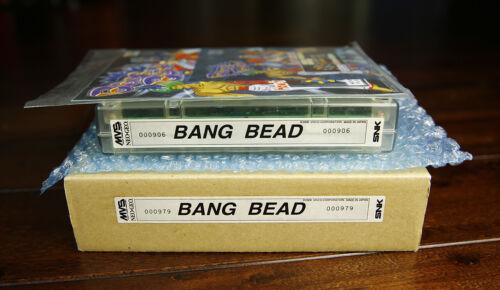 Bang Bead/Progress English US MVS Kit •Neo Geo JAMMA Arcade System •SNK Visco