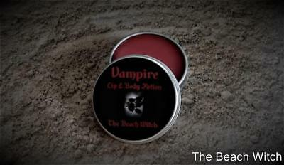 VAMPIRE Lip & Body Balm Potion Ritual Oil Balm Vampirism Wicca Witchcraft - Vampire Lip