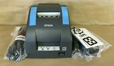 Epson Point Of Sale Dot Matrix Printer Black Tm-u220pd C31c518653 New