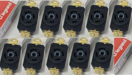 Lot of 10 Pass & Seymour Turnlok Receptacle Plug L2130-R 30A 120/208V 5W Legrand