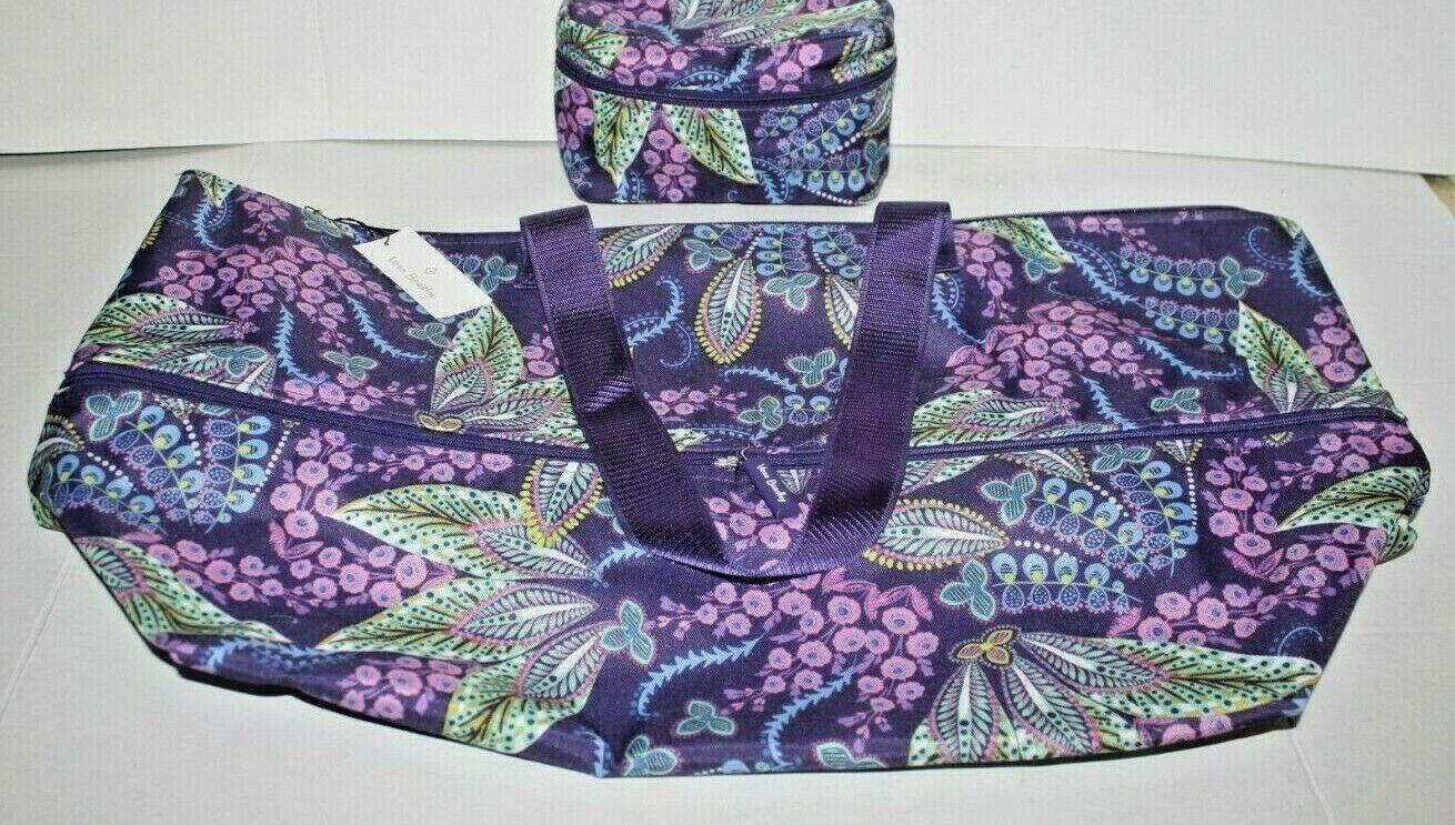 lighten up expandable travel tote bag batik