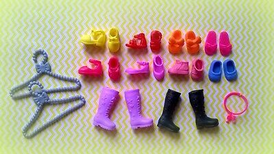 ������Lot of *10 Pairs*of Barbie Chelsea,Kelly doll shoes*NEW*������