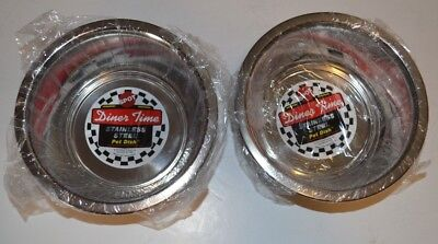 - Lot Of 2 Ethical Products Stainless Steel Mirror Pet Dish 1 Quart
