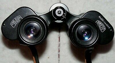 Carl Zeiss Jenoptem 8x30W Multi-Coated binoculars + case, S/N 5369398. German