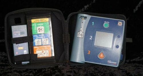 Agilent ( Philips ) Heartstart FR2 AED with Case,working Condition Biomed Tested