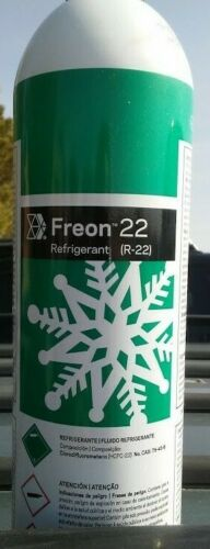 R 22   VIRGIN FREON  35 OZ  CAN   FREE CONECTOR