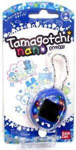 NEW BANDAI Tamagotchi NANO BLUE Vivid Flower Electronic Virtual PETS RARE