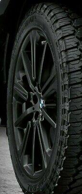 """BMW OEM G05 X5 G01 X3 G04 X4 749M M Double Spoke 22"""" Wheel & Tire Set Matt Black"""