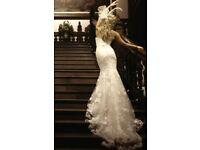 Bramd new Benjamin Roberts wedding dress