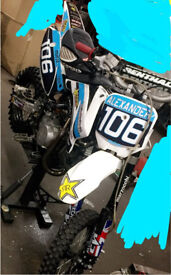 Stomp ace Pitbike , bucci, pitsterpro , marzzochi, Fox , Pitbike , 160 ,140 race bike