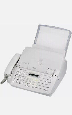 Sharp Plain Paper Fax Ux-510a 20 Page Feeder 200 Sheet Covered Paper Tray