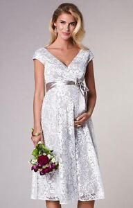 Tiffany Rose Maternity Lace Wedding Dress/Special Occasion Dress