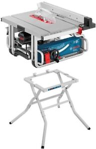 "Bosch Portable Table Saw - 10"" -15 A Like New"