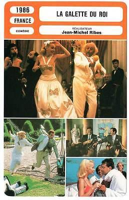 FICHE CINEMA : LA GALETTE DU ROI - Rochefort,Hanin,Villeret 1986 The King's Cake (La Kings Cake)
