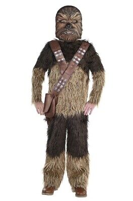 Boys Chewbacca Costume With A Mask - Solo: A Star Wars Story Child Medium