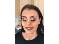 Makeup artist available to come to you. £20 full face £25 with lashes. BOOK IN TODAY !!!