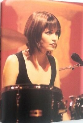 The CORRS 'drum & mic' magazine PHOTO/Poster/clipping 11x8 inches