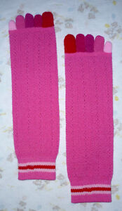 tube socks with Toes : NEW : Never worn : As shown Cambridge Kitchener Area image 1