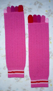 tube socks with Toes : NEW : Never worn : As shown
