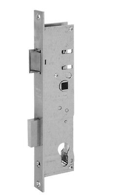 WILKA Einsteckschloss für Rohrrahmentür 453 24/24/92/8 mm Falle und Riegel 5 mm  (Schlösser Und Riegel)