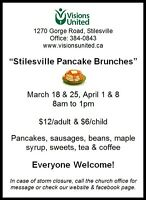 Stilesville Pancake Brunches