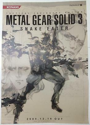 METAL GEAR SOLID 3 Poster 01 Promo