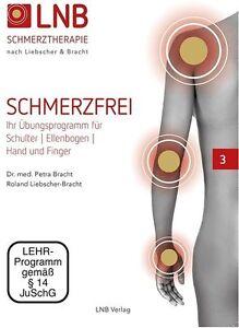 DVD Nr.3 LNB SCHMERZFREI Schulter Ellenbogen Hand Finger Liebscher&Bracht NEU