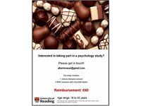 £60 PAID BRAIN STUDY - University of Reading