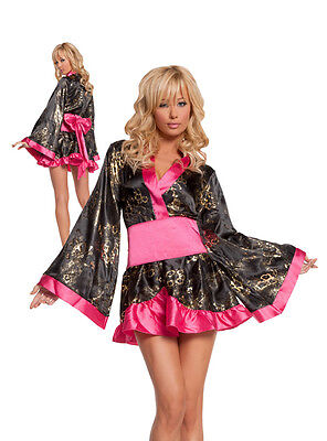 Ladies Shanghai Sweetie Costume S 8-10 UK Fancy Dress Hen Night Chinese