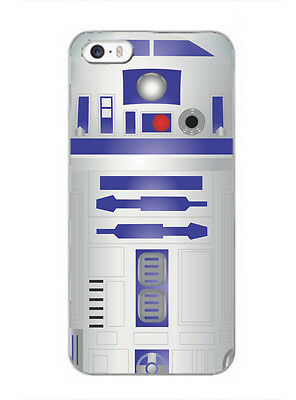 R2D2 robot phone case star wars Inspired cover for iPhone Samsung Huawei phones
