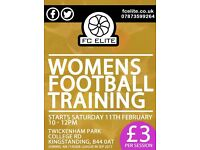 Ladies football team looking for players