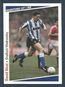 SHOOTING-STARS-1991-92-265-SHEFFIELD-WEDNESDAY-ENGLAND-BARNSLEY-DAVID-HIRST