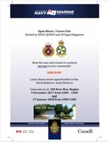 Open House 9 Dec 17 - Canadian Armed Forces Reserve (part-time)