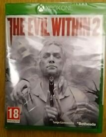 The Evil Within 2 Xbox One New & Sealed