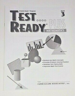 +ANSWERS Math Test Ready Problem-Solving Practice Key Skill Concepts 3rd Grade 3 3rd Grade Math Problem Solving