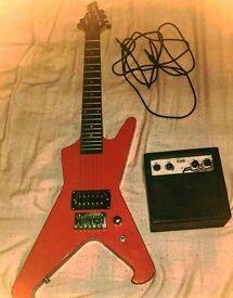 Junior Guitar and Amplifier