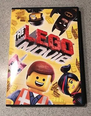 The Lego Movie DVD with used ultraviolet digital code EXCELLENT CONDITION](Ltd Promo Code)