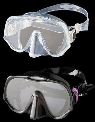 Atomic Aquatics Frameless - Einglasmaske mit ULTRACLEAR Gläsern