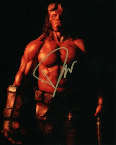 David Harbour Hellboy Autographed Signed 8x10 Photo COA MT326