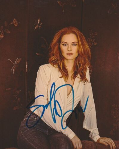 Sarah Drew Sexy Grey's Anatomy Autographed Signed 8x10 Photo COA #MR473