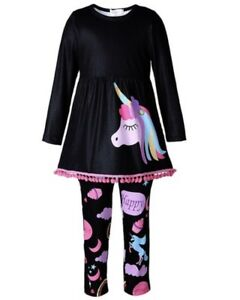 Unicorn girls outfit